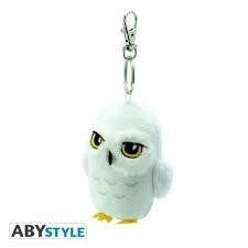 HARRY POTTER PLUSH KEYCHAIN HEDWIG