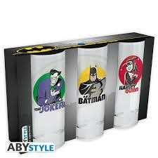 DC COMICS SET DE 3 VERRES