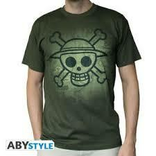 ONE PIECE TSHIRT SKULL WITH MAP BL S
