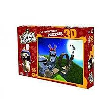 LAPINS CRETINS PUZZLE 3D LOOPING