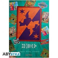 HARRY POTTER POSTER  MAGASIN WEASLEY