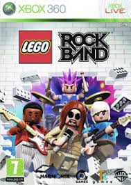 LEGO ROCK BAND X360