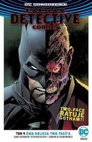 BATMAN DETECTIVE COMICS TOM 9