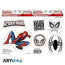 MARVEL STICKERS SPIDER MAN