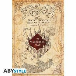HARRY POTTER POSTER MAURAUDER MAP