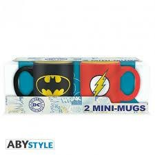 DC COMICS SET 2 MUGS ESPRESSO 110 ML BAT