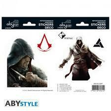 ASSASSINS CREED STICKERS 16 X CM EZIO AL