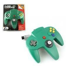 N64 CLASSIS CONTROLLER CLEAR GREEN