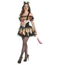 KOSTIUM SCARY CLOWN PETTICOAT M