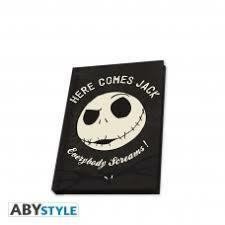 NIGHTMARE BEFORE XMAS CARNET JACK PHOSPH