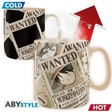 ONE PIECE MUG HEAT CHANGE 460 ML WANTED