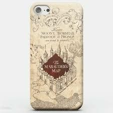 HARRY POTTER PHONE CASE MARAUDERS MAP