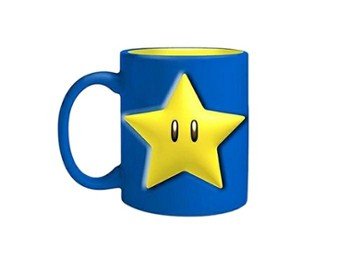 NINTENDO MARIO STAR COFFE MUG 600 ML