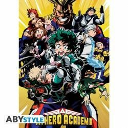 MY HERO ACADEMIA GROUPE POSTER