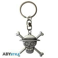 ONE PIECE PORTE CLES 3 D SKULL LUFFY