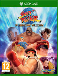 STREET FIGHTER 30 TH ANNIVERSARY COL XON