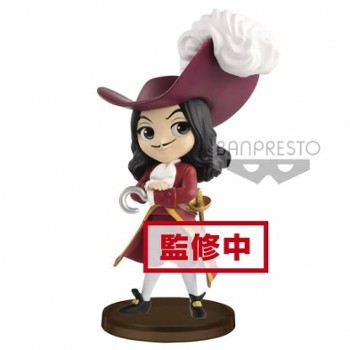 DISNEY FIG Q POSKET CAPTAIN HOOK 7 CM