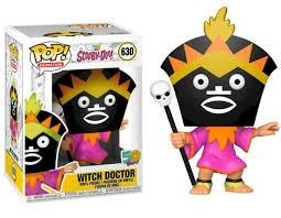 POP ANIMATION SCOOBY DOO WITCH DOCTOR