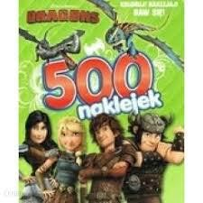 DRAGONS 500 NAKLEJEK