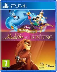 PS4 DISNEY ALLADIN AND THE LIONG KING
