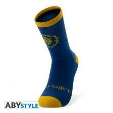 WORLD OF WARCRAFT SOCKS BLUE YELLOW ALLI