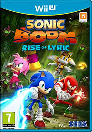 WII U SONIC BOOM RISE OF LYRIC