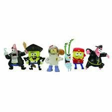 BOB L`EPONGE - PACK DE 6 MINI FIGURINES2