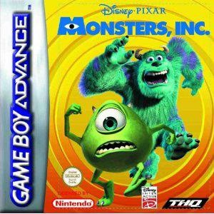 MONSTERS INC GBA