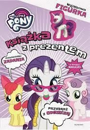 MY LITTLE PONY KSIAŻKA Z PREZENTEM RARIT