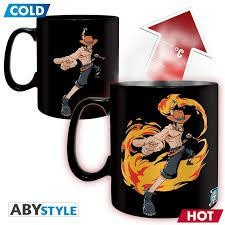 ONE PIECE MUG HEAT CHANGE 460 ML LUFFY A