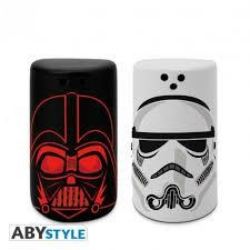 STAR WARS SALT PEPPER SHAKERS VADER