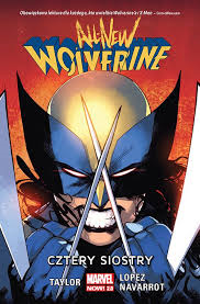 ALL NEW WOLVERINE CZTERY SIOSTRY
