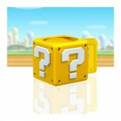 NINTENDO MUG EN FORME QUESTION BLOCK