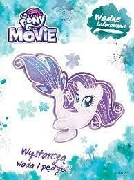 MY LITTLE PONY THE MOVIE WODNE KOLOROWAN