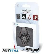 ASSASSINS CREED SET 4 COASTERS GENERIC