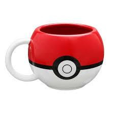 POKEMON MUG 3 D POKEBALL