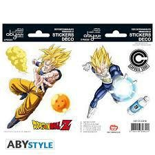 DRAGON BALL STICKERS 16 X 11 CM DBZ