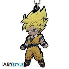 DRAGON BALL KEYCHAIN PVC DBZ GOKU