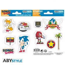 SONIC STICKERS RETRO