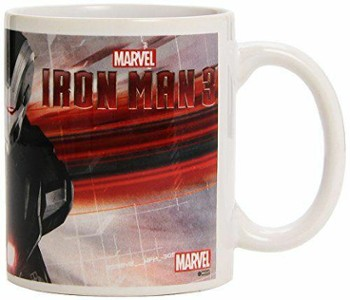 MARVEL MUG IRON MAN 3 WAR MACHINE