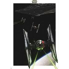 STAR WARS POSTER TIE FIGHTER