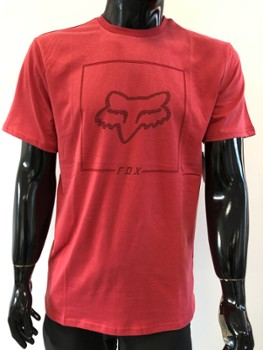 T-SHIRT FOX CHAPPED AIRLINE RIO RED