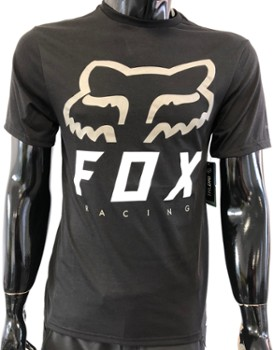 T SHIRT FOX HERITAGE FORGER TECH BLACK