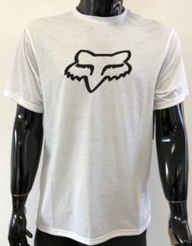 T SHIRT FOX TOURNAMENT TECH OPTIC WHITE