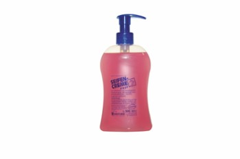 Seifencreme rose butelka z doz. 500ml