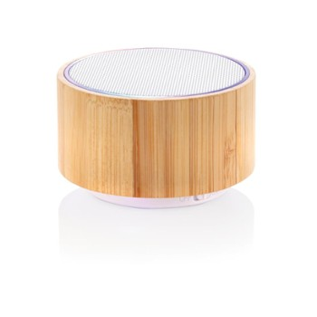 XD COLLECTION Bamboo Speaker White