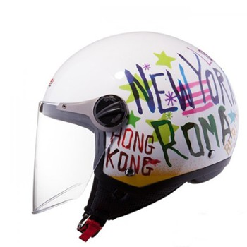 KASK LS2 OF560.25 CITY WHITE XXL