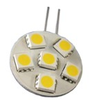 G4-Ls 12V 6Pcs Led 5050 Smd Ww Okr Ągła