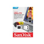 Sandisk Pendrive 16Gb Ul/Fit Usb3.0 Czar
