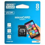 Karta Micro-Sd Hc 8Gb+Adapter Sd Goodram